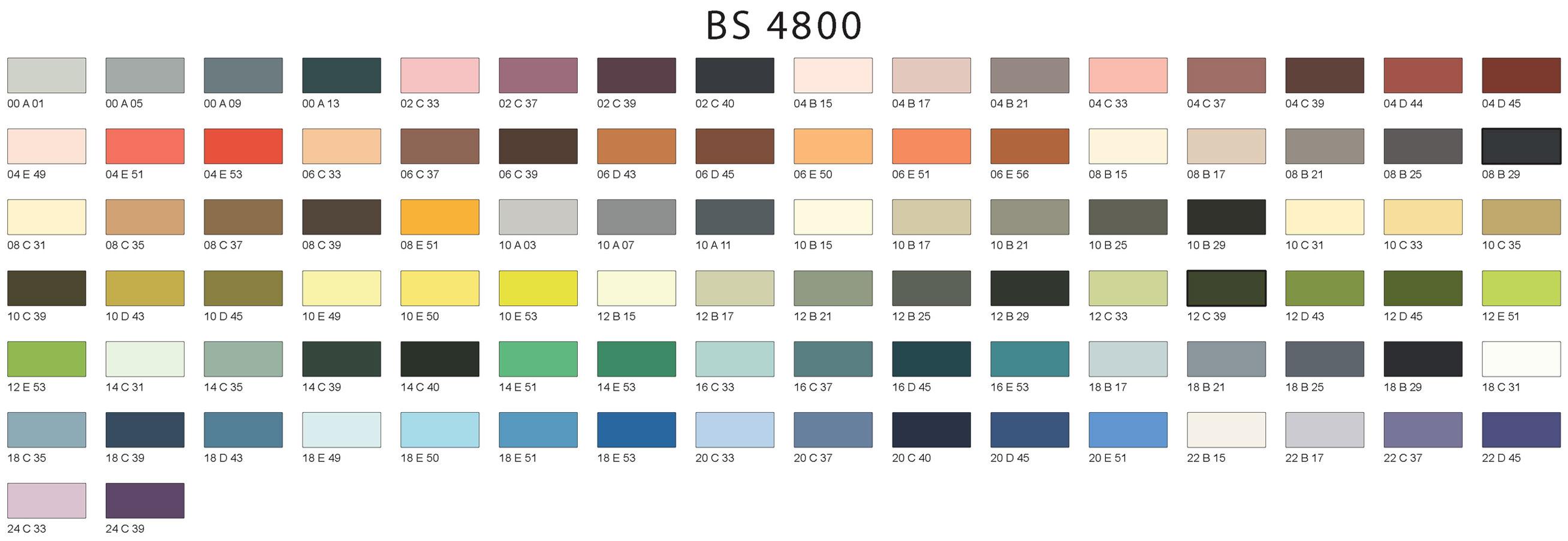 Powder coating colour charts 381c ral 4800 devon powder coating bs 4800 powder coating colour charts nvjuhfo Images